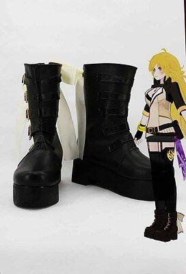 RWBY Yang Xiao Long Yellow Trailer Cosplay Schuhe Kostüme Shoes Costume Stiefel
