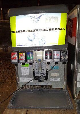 Lancer Beverage Soda Machine Six Head Ice Dispenser Coke Fountain 45702 2