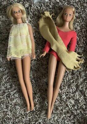 Vintage malibu Barbie And Francie Swimsuit And Towel
