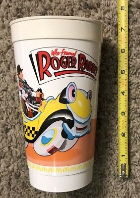 1985 McDonalds Who framed Roger rabbit plastic cup