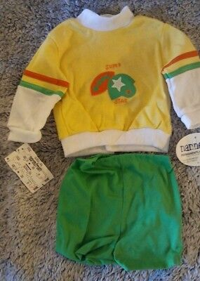 ADORABLE Vintage Baby Boy Outfit by Nannette NWT
