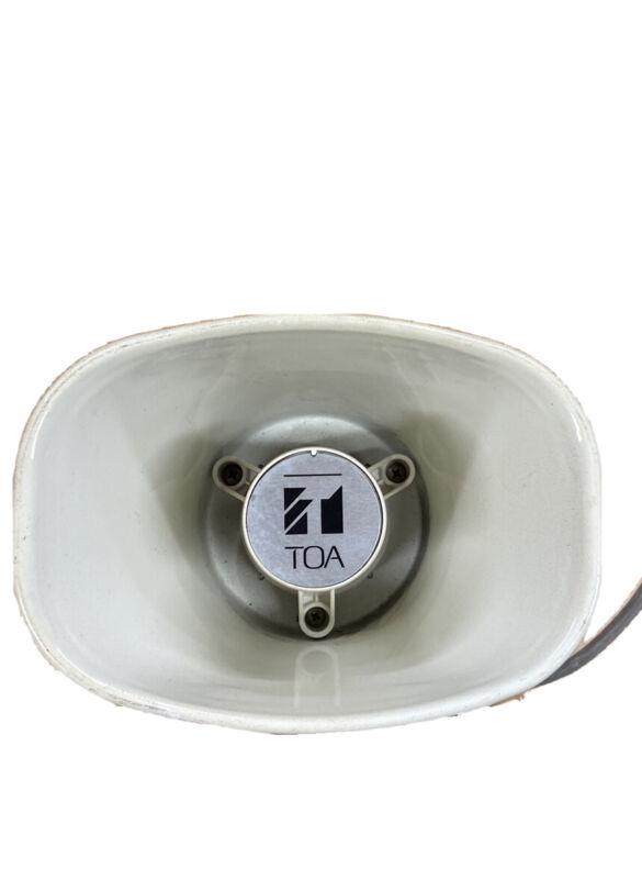 TOA SC-610T Paging Loudspeaker Horn Speaker w/ Transformer, NEW