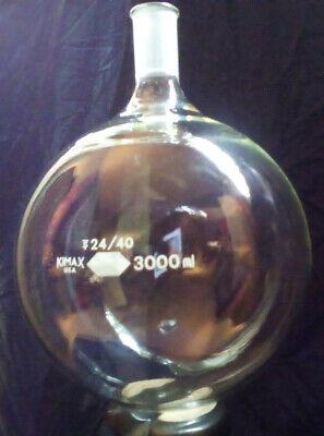 3000 Ml Kimax Round Bottom Boiling Flask - Single Neck - 2440