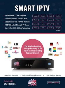 Real Tv , Live Tv - All is Smart IPTV( Special 4K Edition box) West Perth Perth City Area Preview