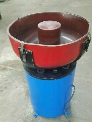 Refurbished Belair Vibratory Tumbler 12 Cubic Foot 110v Metal Finishing Machine