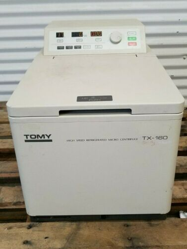Tomy TX-160 Refrigerated Centrifuge with TMA-24 Rotor