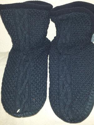 Herren Pantoffel Socke (Herren Pantoffel Stiefel Hausschuhe Haussocken füßwärmer antirutsch Gr.43/44 NEU)