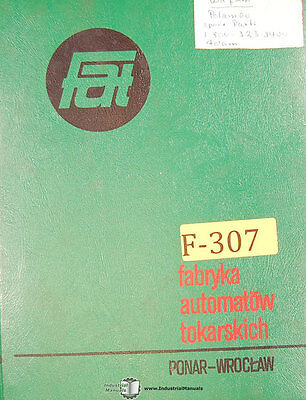 Ponar Toolmex Tur50 Ponar Engine Lathe Instructions And Parts Manual 1980