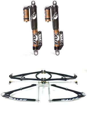 Walsh Racecraft Long Travel A-Arms Fox Float 3 RC2 Shocks Suspension Kit YFZ450R