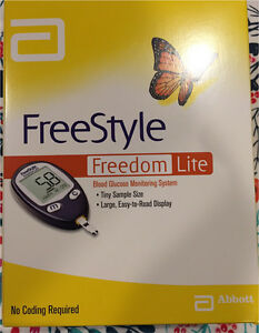 Free style freedom lite blood glucose monitor Bonner Gungahlin Area Preview