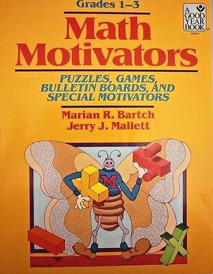 Math Motivators : Puzzles, Games, Bulletin Boards and Special Motivators Vol. I  ()