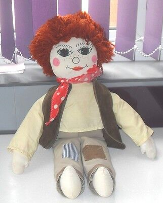 ROSIE & JIM ONLY  JIM CANAL NARROW BOAT CLOTH DOLL 24 Inches TALL