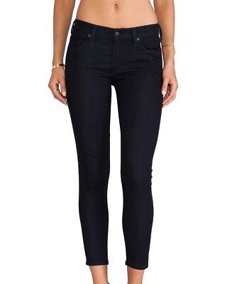 A Gold E Los Angeles Valerie Crop Skinny Jeans in Premiere Wash Size 25