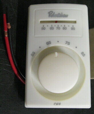 Robertshaw M601-25 Line Voltage Thermostat With Thermometer