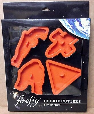 Firefly Serenity Cookie Cutter Set (4) New Never used.