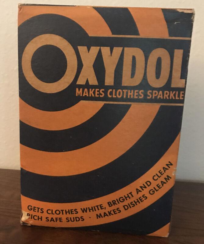 Vintage OXYDOL Unopened Large Box Soap Detergent Washing
