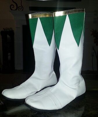 Mighty Morphin Power Rangers Green Power Ranger Boots - Custom Made for you