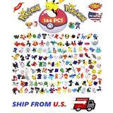 144 PCS Pokemon Mini Action Figures Pokémon Go Toy Gift Set ❶FAST SHIPPING❶
