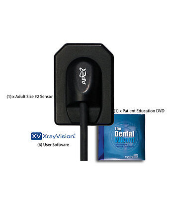 Apex Dental X-ray Sensor. Nearly 12 The Cost Of Dexis Schick Gendex Sensors.
