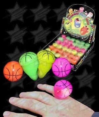 Nba Party Supplies (LED Light Up Flashing Basketball Ball NBA Sports Ball Rings Party Favors 6 12)