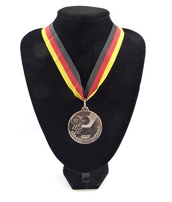 #e4165 DDR Medaille Bestenermittlung Deutscher Gewichtheber Verband der DDR
