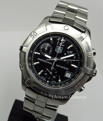 Mens Authentic Swiss TAG Heuer Professional Chronograph CN1110.BA0337 Watch
