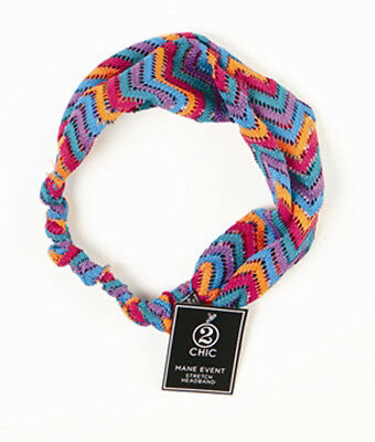 - Mane Event Zig Zag Stretch Headband, Women's Fashion Accessory