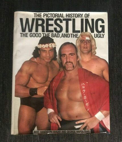 1984 Pro Wrestling Superstars Pictorial History of Wrestling Collector Book RARE