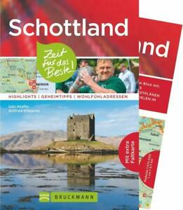 Schottland Reiseführer Bruckmann Verlag inkl. Kartenmaterial