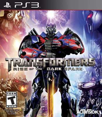 Transformers: Rise of the Dark Spark PS3 New PlayStation 3, Playstation