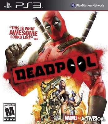 DeadPool PS3 New PlayStation 3, Playstation 3
