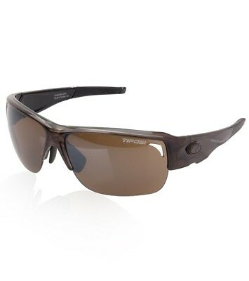 Tifosi Optics Rumor Women's Interchangeable Lens Sunglasses, Crystal Brown