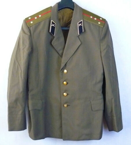 Captain Daily Russian Soviet Army Military Uniform Military Jacket Tunic Blazer