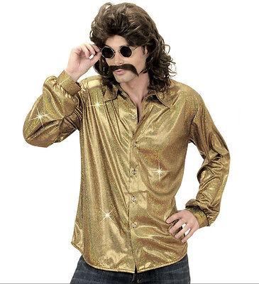 Disco Hemd Saturday Night Fever 70er Jahre Kostüm - Saturday Night Fever Kostüme