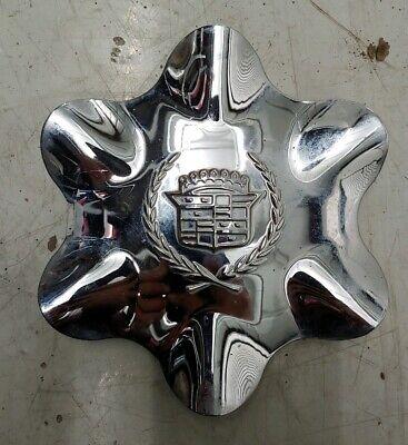 1999-2000 Cadillac Escalade SUV Chrome Wheel Center Hub Cap 9593754 OEM 2000 Cadillac Escalade Wheel