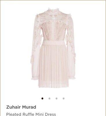 Zuhair MuradPleated Ruffle Mini Dress Sold out...original price $1975