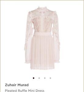 8705fbbe769c Zuhair Murad Pleated Ruffle Mini Dress Sold out...original price $1975