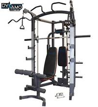 Smith Machine Linear bearing Multi-function + Bench & attach...