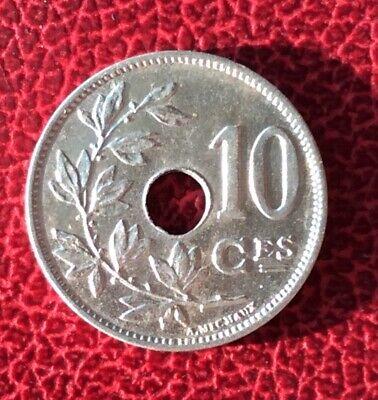 Belgique - Léopold II - Rare et Superbe  10 Centimes 1901 Fr - type Michaux
