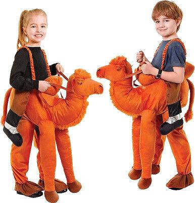 Kostüm Trampeltier Kamel  Reittier Gr.128 Schlüpfkostüm Camel - Kamel Kostüm