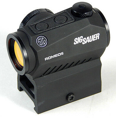 Sig Sauer Romeo 5 1X20mm 2 Moa Red Dot Sight W  Mounts   Sor52001