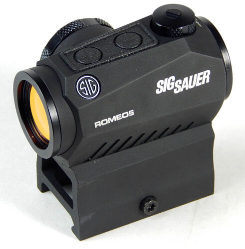 Sig Sauer SOR52001 Romeo5 1x20mm Compact 2 Moa Red Dot Sight, Black SOR52001