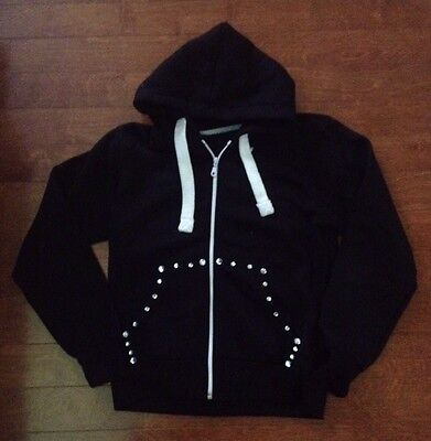 Hip Hop Hoodie Sweatshirt Black Dance Competition Solo ~  Sz Small Solo Hip Hop