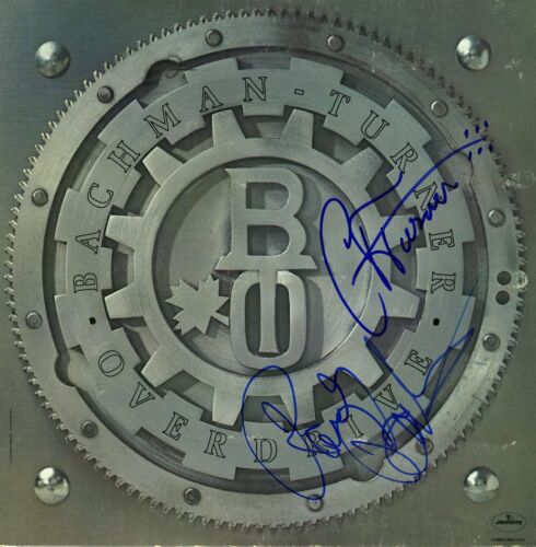 BACHMAN TURNER OVERDRIVE SIGNED RECORD Randy and Fred - BTO