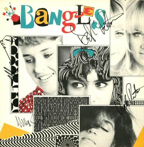 THE BANGLES SIGNED VINYL RECORD Susanna Hoff, Vicki & Deb , Michelle, Debut LP