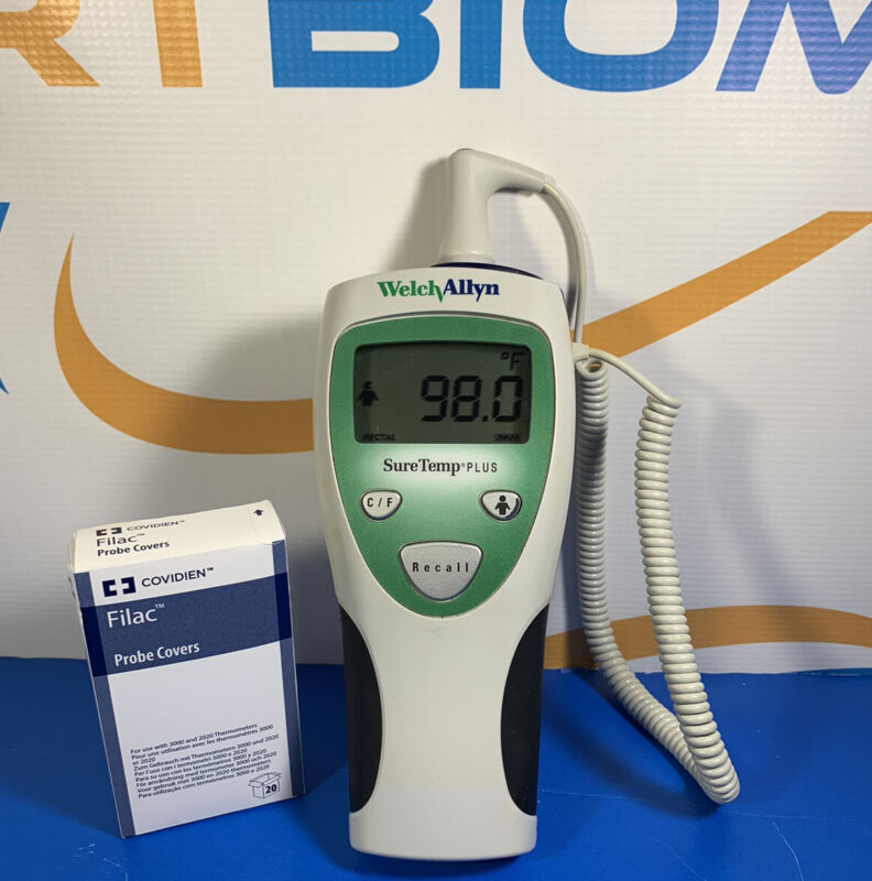 Welch Allyn Digital Thermometer SureTemp Plus 690 with Probe and Probe Covers !!