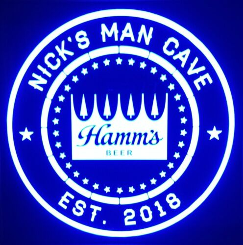 Hamms Beer LED Sign Personalized,