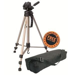 Camlink TP2100 Value Aluminium Digital Camera Tripod & Pan Head with Case - UK