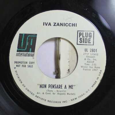 Pop 45 Iva Zanicchi   Non Pensare A Me   Vita On International