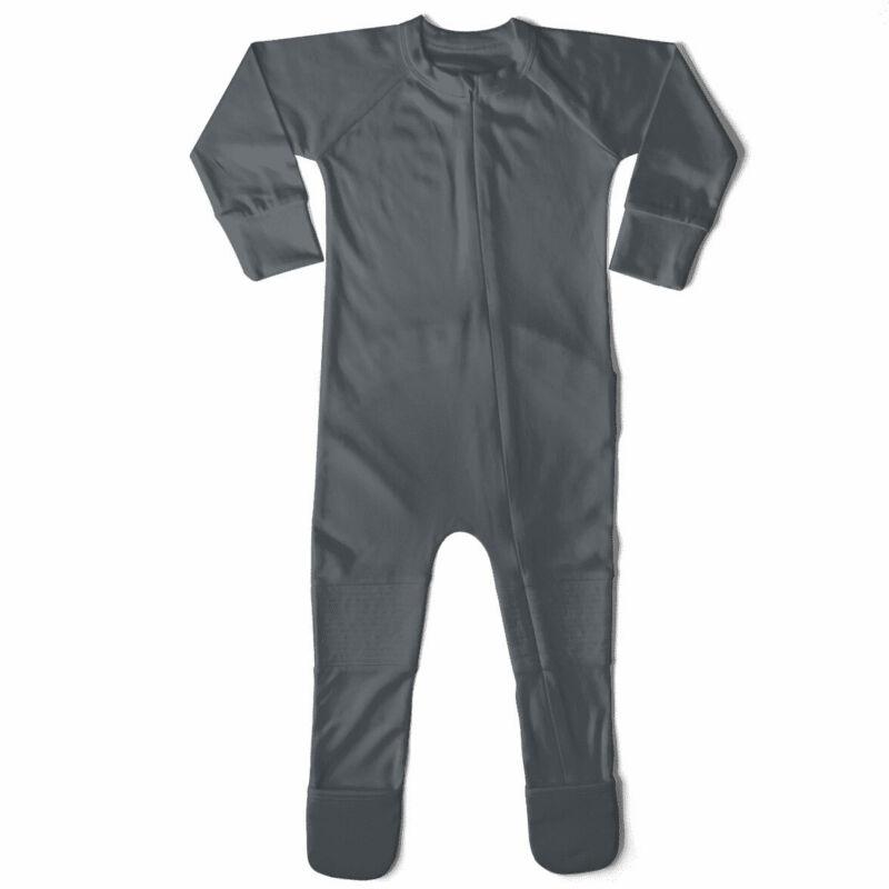 Goumikids Unisex Baby Footie Pajamas Sleeper Clothes, 9-12M Midnight (Open Box)
